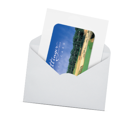 Ottinger Golf Group Gift Cards - Mail